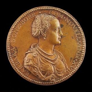 Barbara Borromeo, died 1572, Wife of Camillo Gonzaga 1555 [obverse]