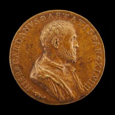 Girolamo Cardano, 1501-1576, Physician and Philosopher of Pavia [obverse]