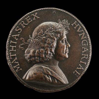 Matthias Corvinus, 1443-1490. King of Hungary 1458