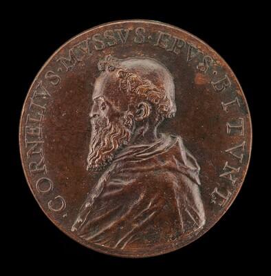 Cornelio Musso, 1511-1574, Franciscan Monk and Bishop of Bitonto 1547 [obverse]
