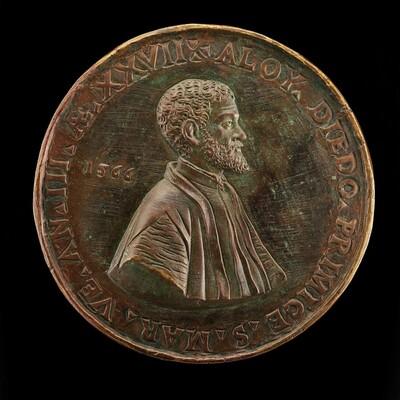 Alvise Diedo, 1539-1603, Scholar and Poet, Primicerius of Saint Mark's 1563 [reverse]