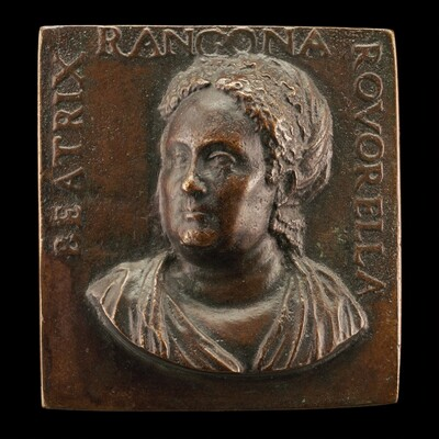 Beatrice Roverella, c. 1510-1575, Wife of Paolo Manfroni and Ercole Rangone [obverse]