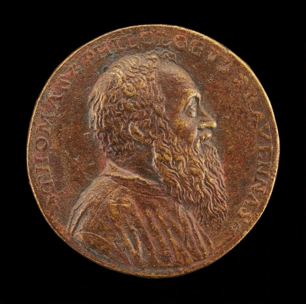 Tommaso Rangone, 1493-1577, Physician of Ravenna [obverse]
