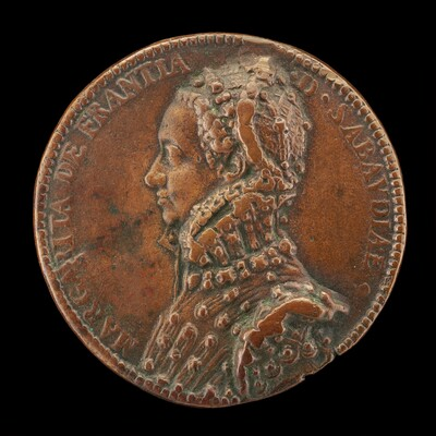 Marguerite of France, 1523-1574, Duchess of Savoy [obverse]