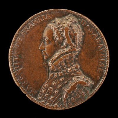 Marguerite of France, 1523-1574, Duchess of Savoy [reverse]