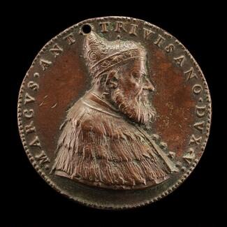 Marcantonio Trevisan, c. 1475-1554, Doge of Venice 1553 [obverse]