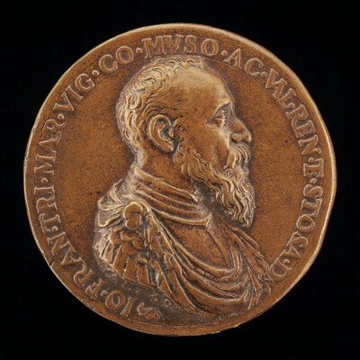 Gianfrancesco Trivulzio, 1504-1573, Marquess of Vigevano 1518 and Count of Mesocco 1518-1549 [obverse]