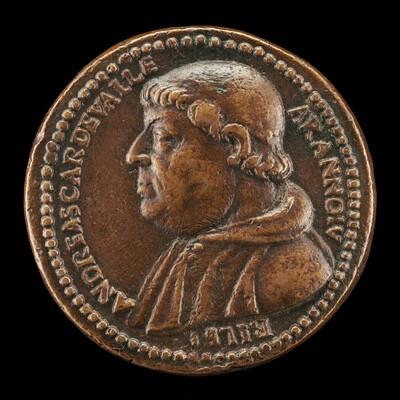 Andrea Della Valle, 1463-1534, Patron and Collector, Cardinal 1517 [obverse]