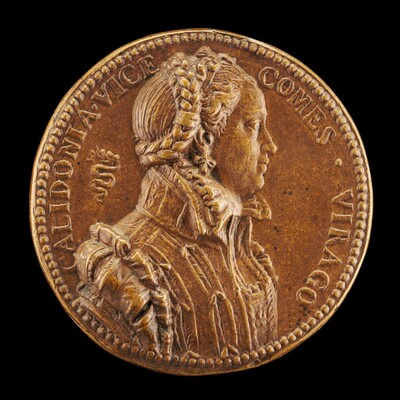 Calidonia Visconti Cavanago, Wife of Lucio Cavanago [obverse]