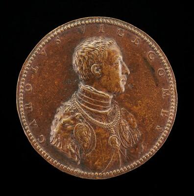 Carlo Visconti, 1523-1565, Cardinal 1565 [obverse]