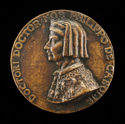 Filippo Cassoli, died 1391, Jurist, Diplomat, and Teacher [obverse]