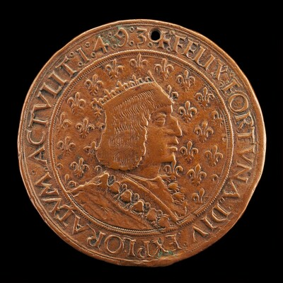 Charles VIII, 1470-1498, King of France 1483 [obverse]