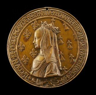 Anne of Brittany, 1477-1514, Wife of Louis XII 1498 [reverse]