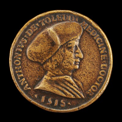 Antonio Gonzalo de Toledo, c. 1480/1483-1524, Physician at Lyon [obverse]