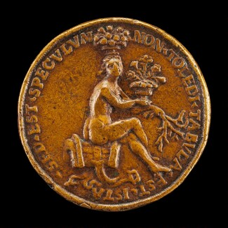 Woman Sitting on a Saddle [reverse]