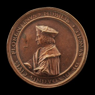 Tommaso Guadagni, 1454-1533, Banker, Florentine Consul at Lyon 1505, Municipal Counselor 1506-1527, Counselor to François I 1523 [obverse]