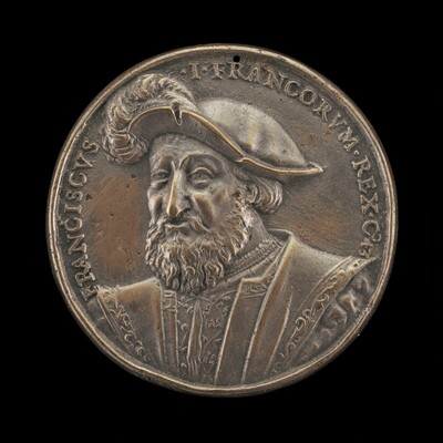 François I, 1494-1547, King of France 1515 [obverse]
