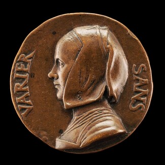 Portrait of a Woman [reverse]
