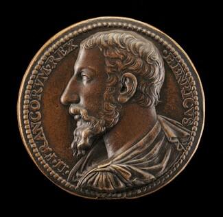 Henri II, 1519-1559, King of France 1547 [obverse]