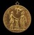 Louis XIII as Dauphin between Henri IV as Mars and Marie as Pallas Athena [reverse]