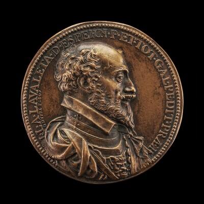 Jean-Louis de Nogaret de la Valette, 1554-1642, Duke of Epernon, Colonel General of Infantry [obverse]