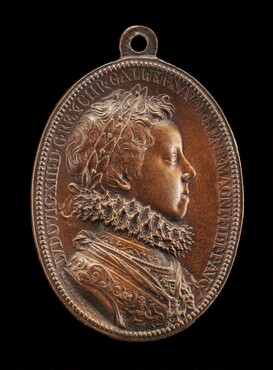 Louis XIII, 1601-1643, King of France 1610 [obverse]