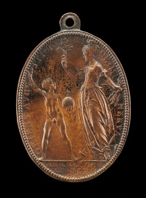 Young Louis and Minerva [reverse]