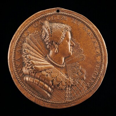 Anne of Austria, 1601-1666, Wife of King Louis XIII of France 1615 [reverse]