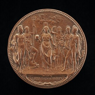 The Queen as Mother of the Gods [reverse]