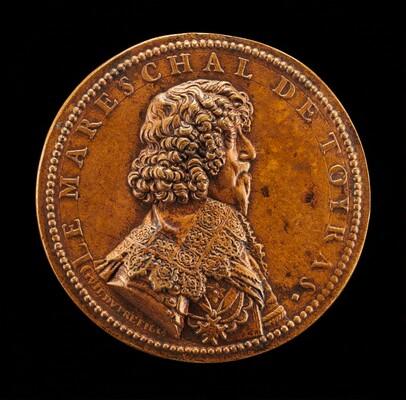 Jean de Caylar de Saint-Bonnet, 1585-1636, Marquis de Toiras, Marshall of France 1630 [obverse]