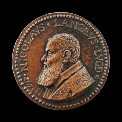 Nicolas de Lange, 1525-1606, Jurisconsult, Antiquarian, and Numismatist [obverse]