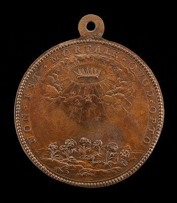 Stars and Clouds Encircling a Crown [reverse]