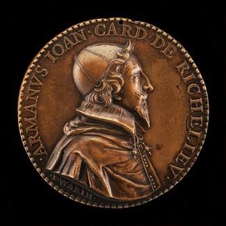Armand-Jean du Plessis, 1585-1642, Cardinal de Richelieu 1622 [obverse]