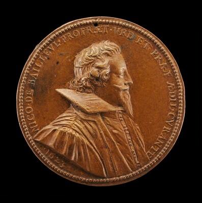 Nicolas de Bailleul, 1587-1652, Mayor of Paris 1622-1628 [obverse]
