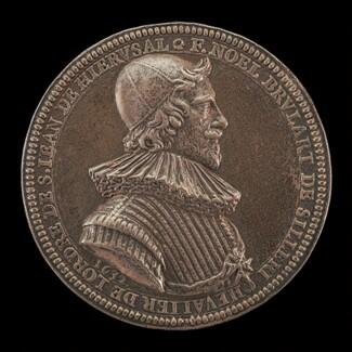 Noël Brulart de Sillery, 1577-1640, Knight of Malta 1632 [obverse]