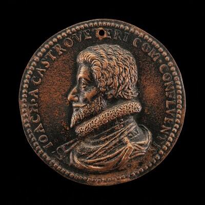 Joachim de Châteauvieux, 1545-1615, Count of Conflans