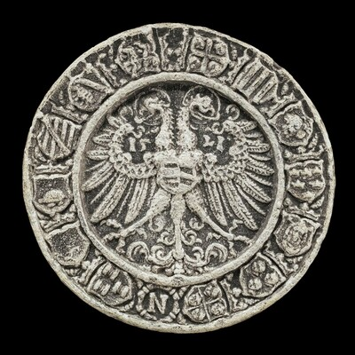 Coats of Arms around Double-headed Eagle [reverse]