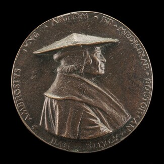 Ambrosius Jung, 1471-1548, City Physician of Augsburg [obverse]