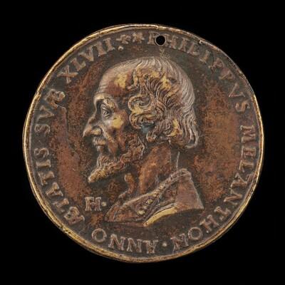 Philipp Melanchthon, 1497-1560, Reformer [obverse]
