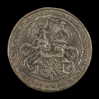 Shield with Casques and Crests [reverse]