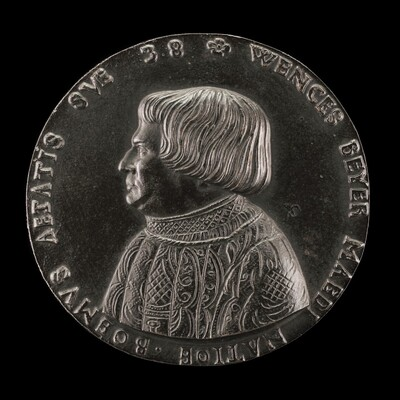Václav Payer (Wenceslaus Beyer), 1488-1537, State Physician of Bohemia [obverse]