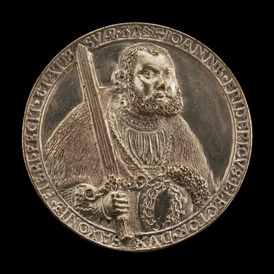 Johann Friedrich, 1503-1554, Elector of Saxony 1532 [obverse]