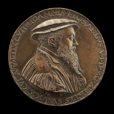 Johann Fichard, 1512-1581, Syndic of Frankfurt am Main [obverse]