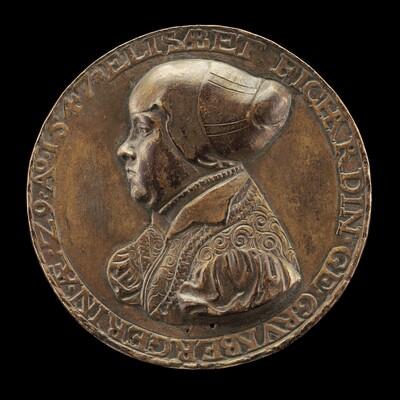 Elisabeth Grünenberger, born 1518, Wife of Johann Fichard 1539 (reverse)