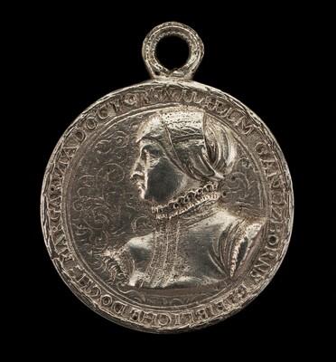 Margarethe Ganzhorn Balbus, Wife of Johann Balbus [obverse]