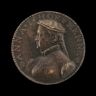 Anna Hofmann, died 1594, Second Wife of the Artist [obverse]