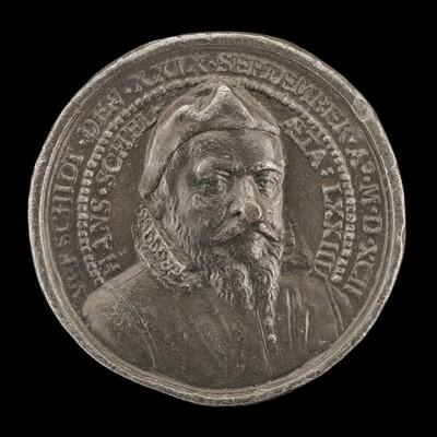 Hans Schel, 1518-1592, Patrician of Nuremberg [obverse]