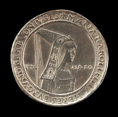 Maria of Burgundy, 1547-1482, First Wife of Maximilian I 1477 [reverse]