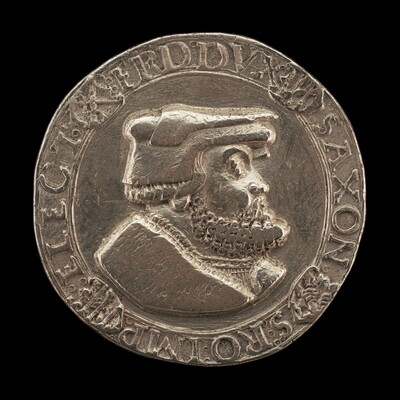 Friedrich III the Wise, 1463-1525, Duke and Elector of Saxony 1486 [obverse]