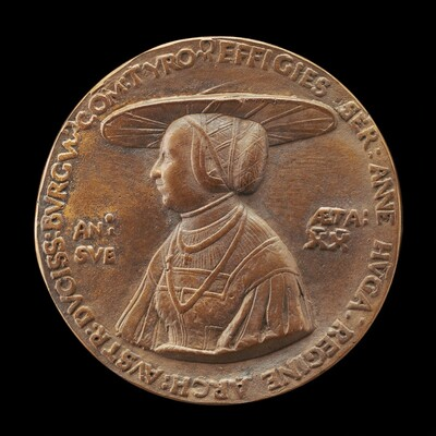 Anne of Hungary, died 1547, Wife of Ferdinand I of Austria 1521 [reverse]